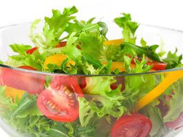A stock image of salad.