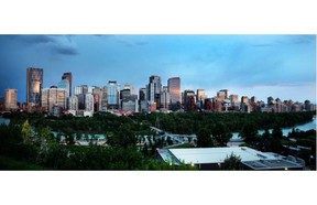 Calgary's downtown skyline will be changing in the future with The Concord luxury condo development planned for the west end of Eau Claire.