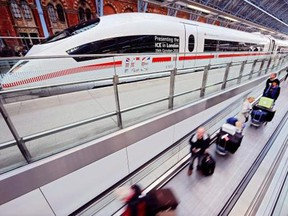 The president of Alberta High-Speed Rail, Bill Cruickshank, believes a high-speed rail link between Calgary and Edmonton could be built for $4 billion, and be economically viable with four million passengers annually.
