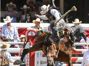 Jake Wright draws Big City for his re-ride in the saddle bronc competition during the 2014 Calgary Stampede. The Canadian Professional Rodeo Association will have a new general manager as of Monday as Dan Eddy, a Maritimer with NASCAR experience, aims to breathe new life into the sport.
