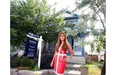 Realtor Grace Yan from Sotheby's International Realty Canada at one of her listings this summer.