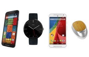 Motorola's new Moto X, Moto 360, Moto G and Moto Hint innovate the smartphone segment but also create various hands free possibilities for users who can now use a smart watch or a smart headset to run the most common functions without even lifting up a phone.
