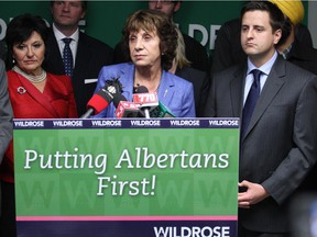 Heather Forsyth has been chosen as the interim leader of the Wildrose Party of Alberta on December 22, 2014.