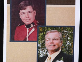 Photos of Foothills peace officer and former Mountie, Rod Lazenby.