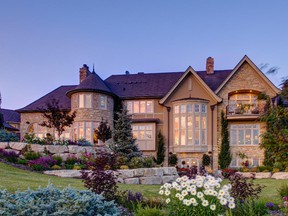 The most expensive MLS residential listing in Calgary right now is this property for $20 million.