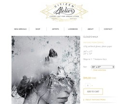 Citizen Atelier is a Montreal-based online studio representing various artists from all over the world.