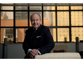 Ian Russell, President and Chief Executive Officer at The Investment Industry Association of Canada, poses for a portrait at his home in Toronto, Ontario, March 6, 2014.