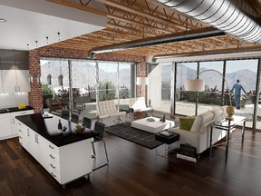 An artist's rendering of Soho Scottsdale, a live-work development in Scottsdale, Arizona, by Catclar Investments.