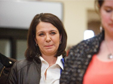 Danielle Smith was disappointed to hear that Carrie Fischer won the Highwood riding nomination at the Highwood Memorial Centre in High River on Saturday, March 28, 2015.