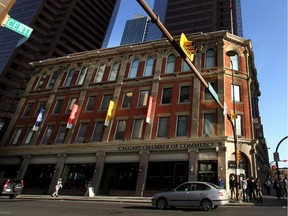 The Calgary Chamber of Commerce  building