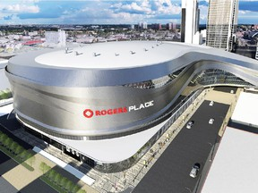 Edmonton's new hockey arena, set to open in 2016. Council debated the project and financing for five years before finally sealing a deal.