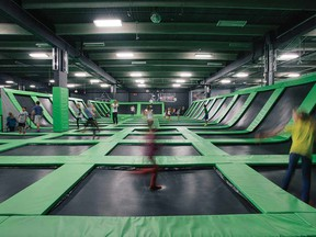 Extreme Airpark: Hold on to your kegels.