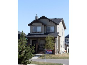 House for sale in Calgary earlier this year.