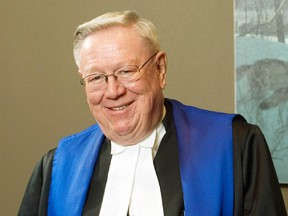 Brian Stevenson is a long-serving judge in the courts system in Calgary.