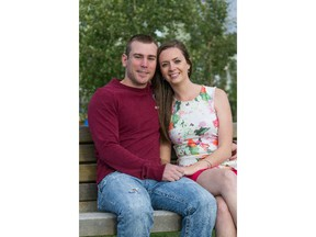 Natasha and Mitchell Kelly bought a home on Airdrie's southwest side.