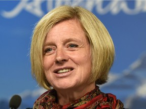 Those who make threats against Premier Rachel Notley on social media should be prosecuted.