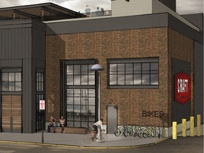 Rendering of the new CRAFT Beer Market to open at Southcentre Mall.