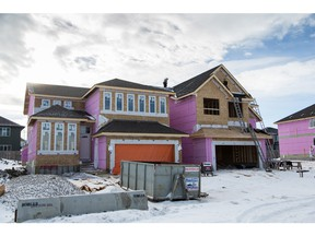 New construction of single-family homes down in November.
