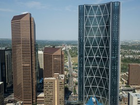 The Bow office tower in Calgary, pictured in August 2015.
