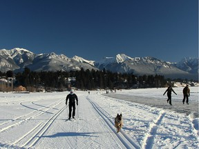 INVERMERE, BC.; JANUARY 7, 2016 -- The Whiteway. For Outdoors piece on winter activities in Invermere, BC area. (CV Pioneer/Calgary Herald) For Outdoors  story by Lisa Kadane.