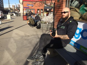 Ara Shimoon, 35, has embarked on a year-long project to take one photograph a day to document his neighbourhood of Hillhurst-Sunnyside.