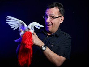 Brent Smith, full-time magician and owner of the Vanishing Rabbit Magic Shop in Calgary, has made a career out of his passion.