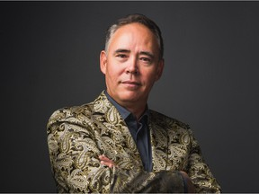 Calgary jazz singer and CBC radio host Tim Tamashiro is getting set to release a new album titled Drinky.