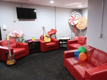 Jann Arden's dressing room was ready for the Juno co-host on Tuesday as the Scotiabank Saddledome underwent a multi-day transformation to host the 2016 Junos this Sunday.