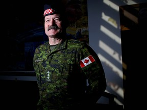 Sgt. Mike ter Kuile has retired from the Calgary Police Service and has joined back-up with the military.