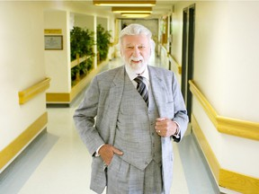 File photo - Calgarian Barrie Strafford became a member of the Alberta Order of Excellence in July 2009.