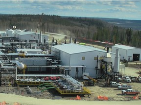 The Townend gas plant being built by AltaGas Ltd. in northeastern B.C. is about 85 per cent complete, says partner Painted Pony Petroleum Ltd. on April 6.