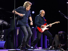 Who frontman Roger Daltrey and guitarist Pete Townshend, shown performing in Edmonton on Sunday, answered the question of Calgary fans wondering if it was worth seeing the classic rockers on what may be their final tour: You better, you bet.