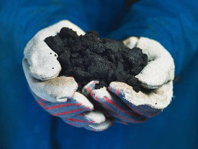 Oilsands is a mixture of bitumen (a thick, sticky form of crude oil), sand, water and clay.