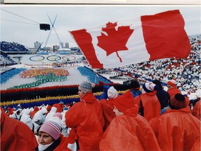 Calgary hosted the Winter Olympics in 1988.