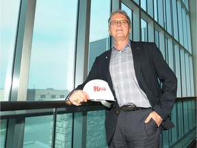 Grant Beck, president and CEO of Graham Construction, in the company's Calgary office.