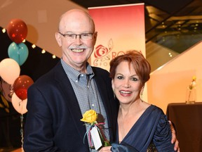 Howard Engstrom, with his wife Jamie, is leaving the CPO after 44 years.