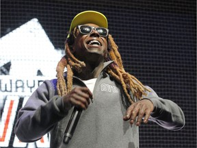 Rapper Lil Wayne will be one of the headliners at the One Love Festival in Calgary in September.