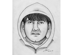 Sylvan Lake RCMP are investigating an attempted abduction of a 13-year-old girl on June 27, 2016, and have released a composite sketch of the male suspect.