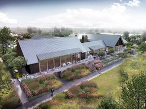 Calgary architectural firm McKinley Burkart has designed a new clubhouse for Bearspaw Country Club members.