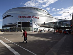 FILE PHOTO: Rogers Place, the new home of the Edmonton Oilers.