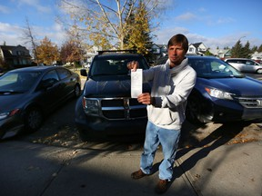 Martin Morett and his neighbours woke up on Thursday October 6, 2016, to find parking tickets on their vehicles parked around the cul-de-sac of Woodmount Green S.W. in Calgary.