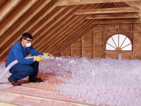 Attic insulation is one of the safest and least expensive ways to boost household energy efficiency.