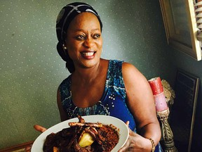 She has put more than a little distance between herself and her native Gambia, but Yassin Jallow's love of cooking has been a constant travel companion