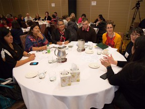 Partners and community members gathered at a forum for the First Nations, Inuit and Metis Cancer Control Initiative in St. John's last year.