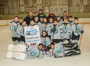 The Storm were the winners of the Atom 4 North division.