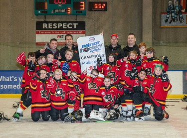 Bow Valley 5 Black claimed the Atom 5 South title.