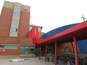 Exterior of the Salvation Army's Centre of Hope located at 420 9 Ave SE in Calgary, Alta is shown on Thursday December 11, 2014.