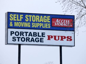 Access Storage in southeast Calgary was photographed on Saturday January 7, 2017. GAVIN YOUNG/POSTMEDIA