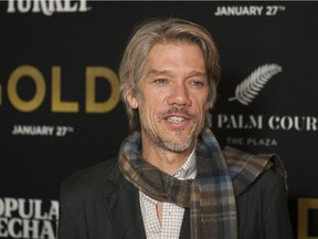 Director Stephen Gaghan at the world premiere of Gold in New York City.