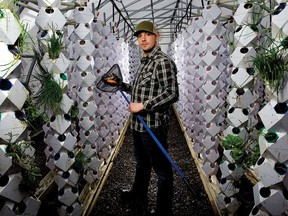 Dan Ronald, of Aqua Terra Farms, became a convert to aquaponics after travelling to the Arctic and the Amazon.